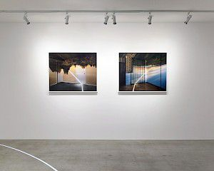 exhibition view »Ascensions of Time« Burrard Arts Foundation, Canada